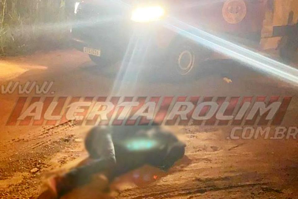Homem é assassinado com vários tiros em Rolim de Moura