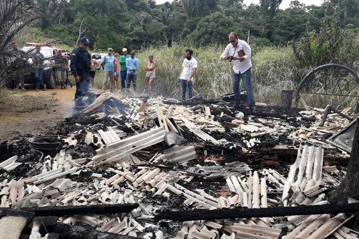 Homem � queimado vivo dentro de resid�ncia em Cujubim
