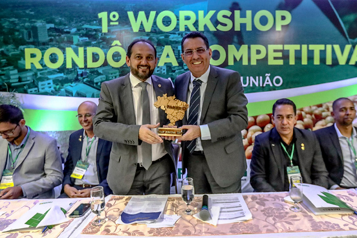 Presidente Laerte Gomes participa do 1º Workshop Rondônia Competitiva