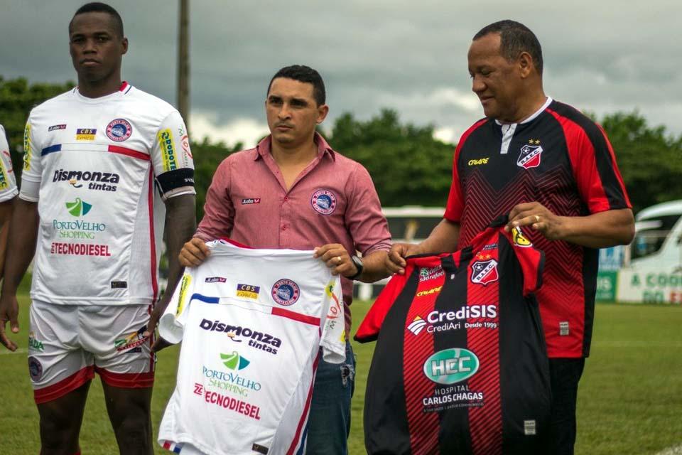 Presidente do Porto Velho fala de estruturas do time durante a pandemia: 'Não viemos para ser melhor que ninguém'